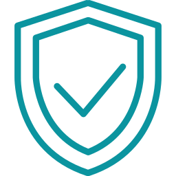 Icon used to show a shield